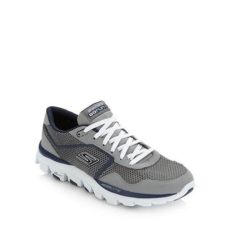 Skechers GOrun - Grey +Go Run Ride+ trainers