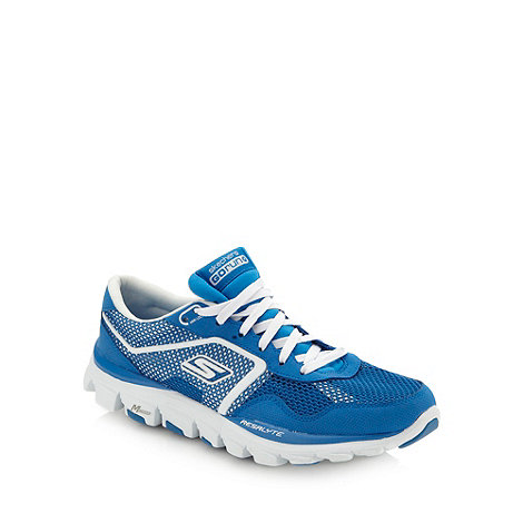 Skechers GOrun - Skechers +Go Run Ride Ultra+ blue trainers