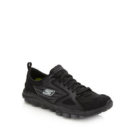 Skechers GOrun - Black +Go Train+ trainers