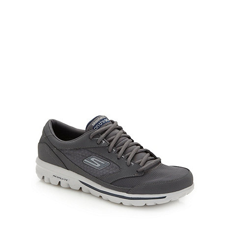 Skechers GOrun - Grey +On The Go+ trainers
