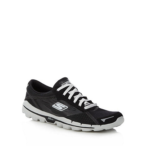 Skechers GOrun - Black 'Go Run' trainers
