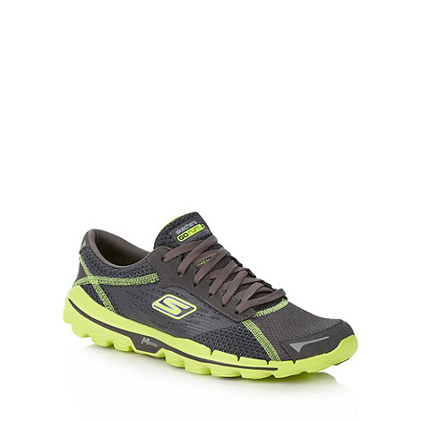 Skechers GOrun - Light grey +Go Run+ trainers