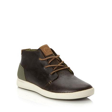 Merrell - Olive +Freewheel Chukka+ shoes