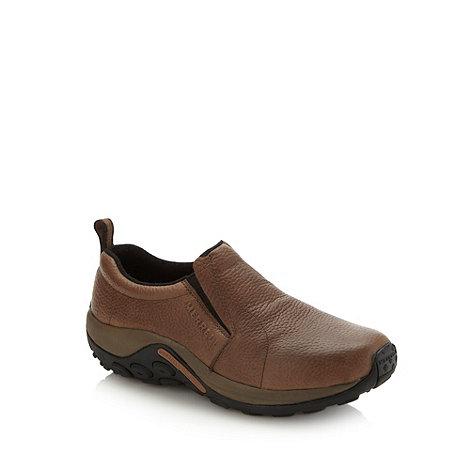 Merrell - Brown +Jungle+ slip on shoes