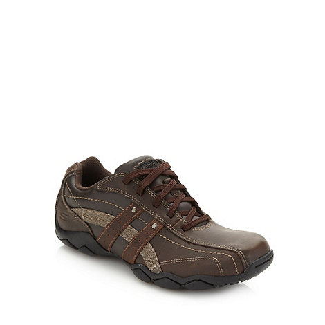 Skechers - Brown +Diameter Blake+ trainers