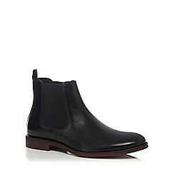 Hammond & Co. by Patrick Grant - Black leather 'Coast' Chelsea boots