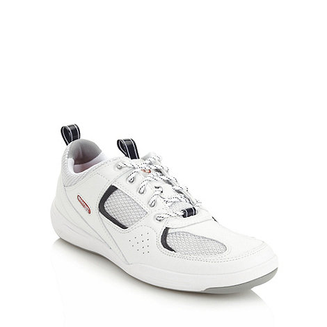 Rockport - White +Admiral Place+ trainers