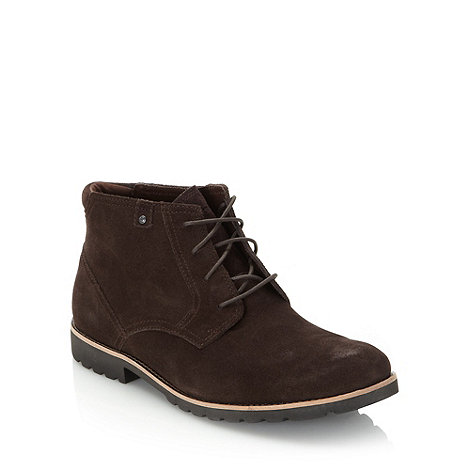 Rockport - Chocolate suede boots