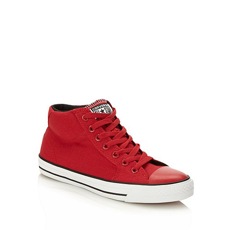 Converse - Red +All Star+ boots