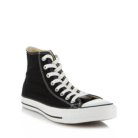 Converse - Black +All Star+ hi-top trainers