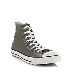 Converse - Grey 'All Star' hi-top trainers