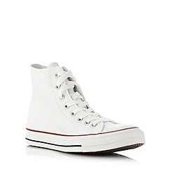Converse - Converse white 'All Star' hi-top trainers