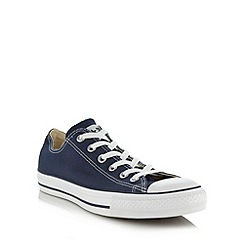 Converse - Navy essential canvas trainers