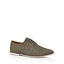 Red Herring - Grey suede Derby shoes