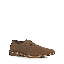 Red Herring - Brown suede 'Bart 2' Derby shoes
