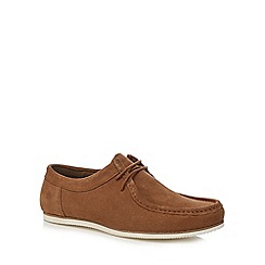 Red Herring - Tan lace up shoes