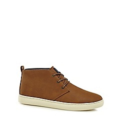 Red Herring - Tan Chukka boots