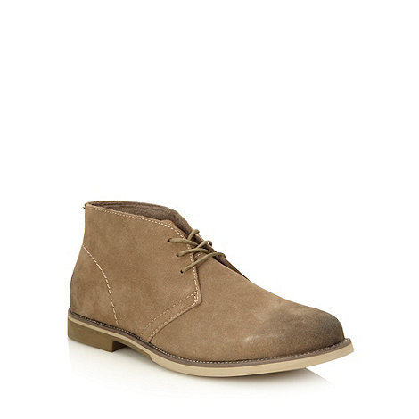 Hush Puppies - Camel suede +Hip+ chukka boots