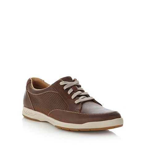 Clarks - Clarks brown +Stafford Park 5+ shoes