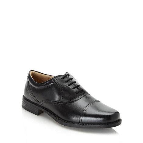 Clarks - Clarks black +Bravo Man+ leather shoes