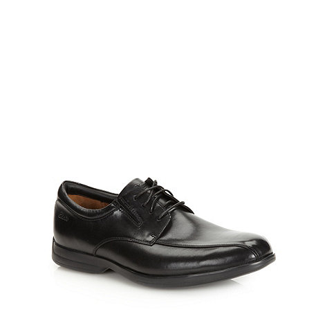 Clarks - Clarks black +General Over 5+ lace up shoes
