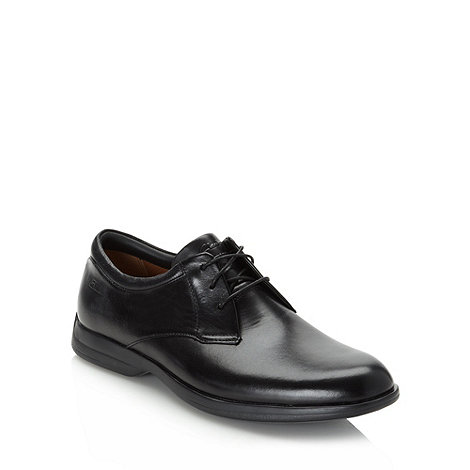Clarks - Clarks black +General Walk 5+ leather shoes