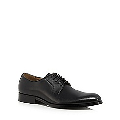 Jeff Banks - Black leather 'Redpoll' Derby shoes