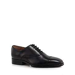 Jeff Banks - Black leather Oxford shoes