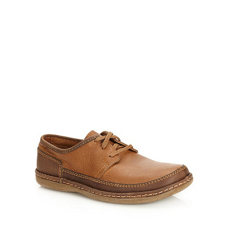 Clarks - Clarks tan +Rishton Moor+ lace up shoes