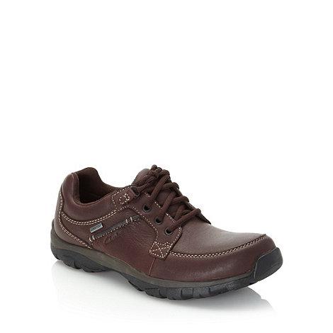 Clarks - Clarks brown +Quantock Go GTX+ shoes