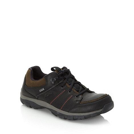 Clarks - Clarks black +Quantock Lo GTX+ shoes