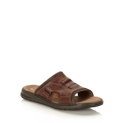 Clarks - Clarks brown +Taino+ mule sandals