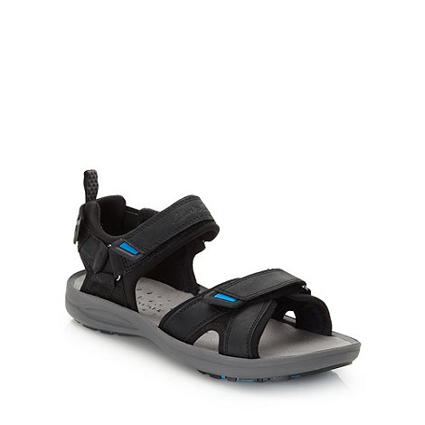 Clarks - Clarks black padded sandals