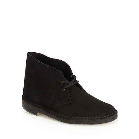 Clarks - Clarks black +Original Desert+ boots