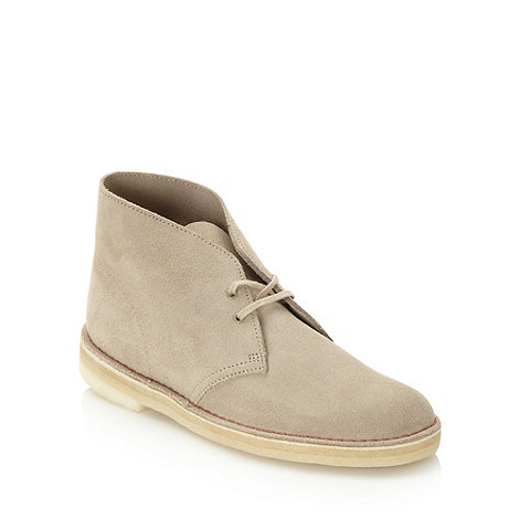 Clarks - Clarks beige +Original Desert+ boots