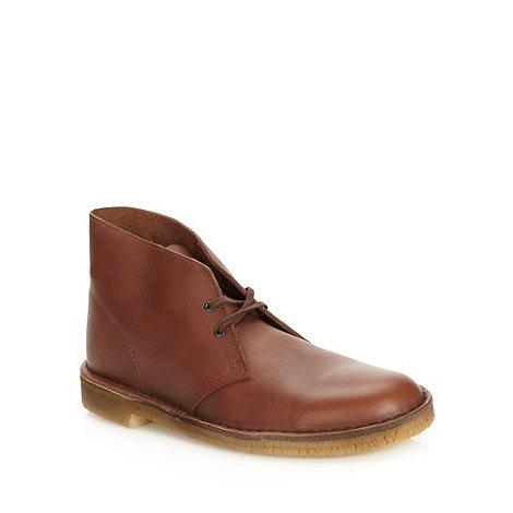 Clarks - Clarks brown +Original Desert+ boots