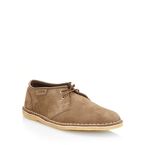 Clarks - Clarks khaki +Jink 2+ suede lace up shoes