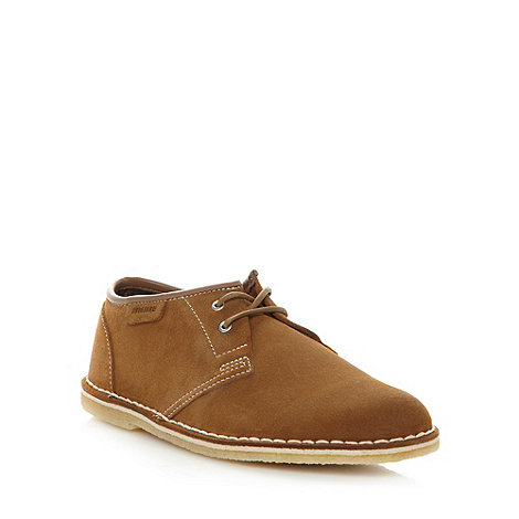 Clarks - Tan suede leather +Jink+ shoes