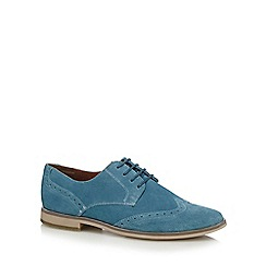 Red Herring - Blue suede 'Waldorf' brogues