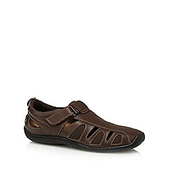 Mantaray - Brown leather shoes