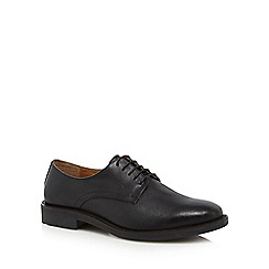 Red Herring - Black leather 'Vesta' Derby shoes