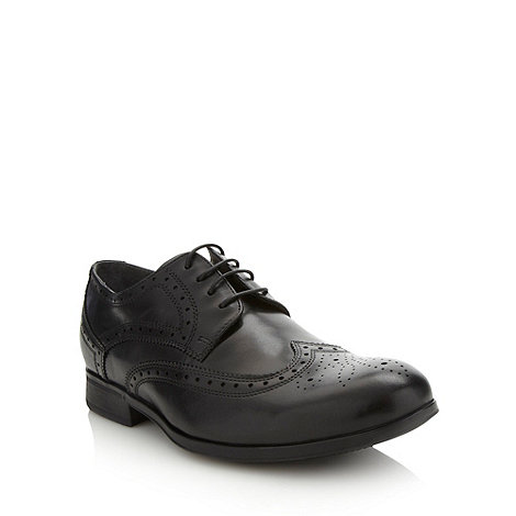 Steptronic - Black cushioned brogues