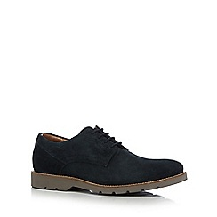 Maine New England - Navy suede Derby shoes
