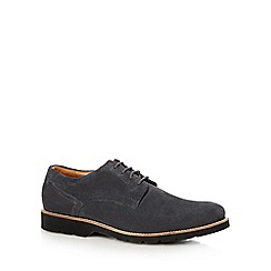 Maine New England - Grey suede Derby shoes