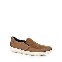 Maine New England - Beige cork slip-on shoes