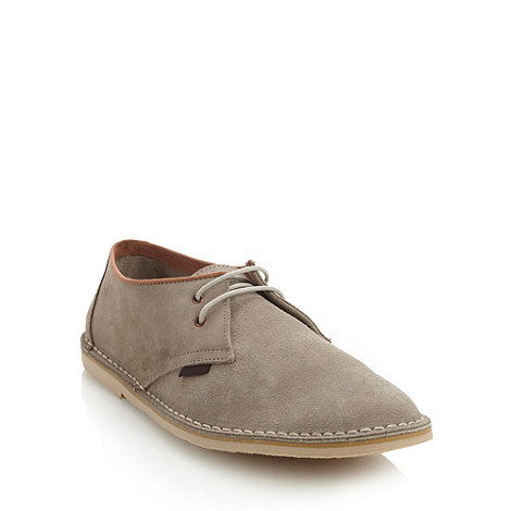 Ben Sherman - Grey suede lace up shoes