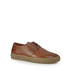 J by Jasper Conran - Brown leather 'Demeter' lace up shoes