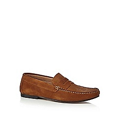 Hammond & Co. by Patrick Grant - Tan suede 'Cambridge' loafers