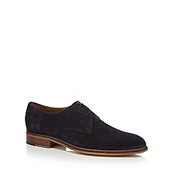 Jeff Banks - Navy suede 'Eagle' Derby shoes