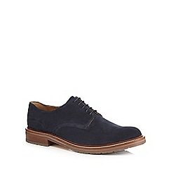 RJR.John Rocha - Navy 'Ace' suede chunky derby shoes